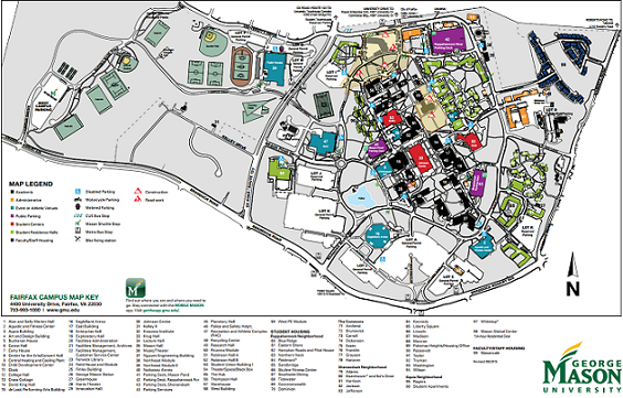 Gmu Fairfax Campus Map | aeropilatesleon
